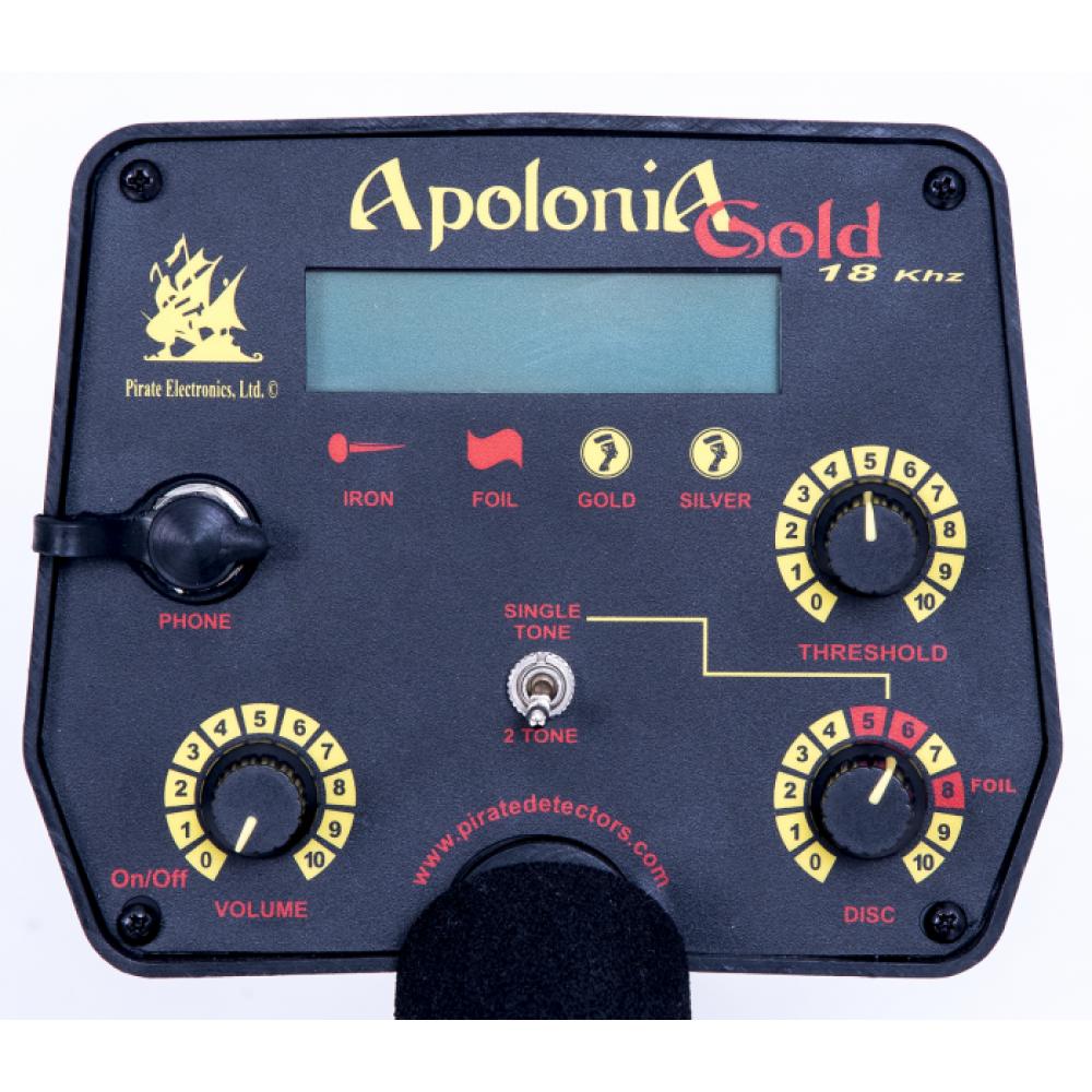 Metaldetector Pirate Apolonia Gold 18 kHZ - Apolonia Gold