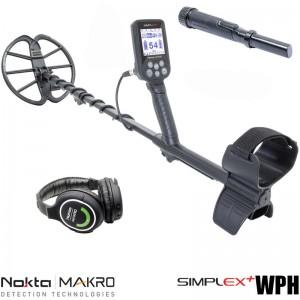 Металотърсач Nokta Makro Simplex+ с пинпойнтер и слушалки